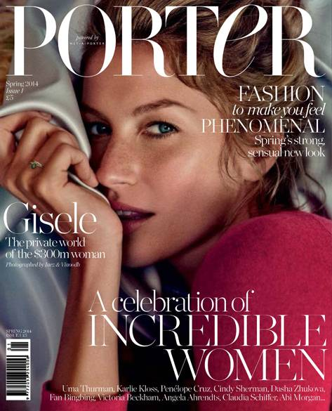 Cover of Porter Magazine