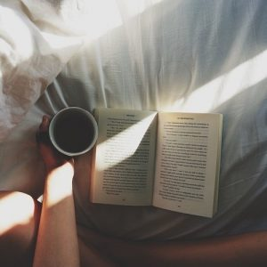 bed-coffee-book