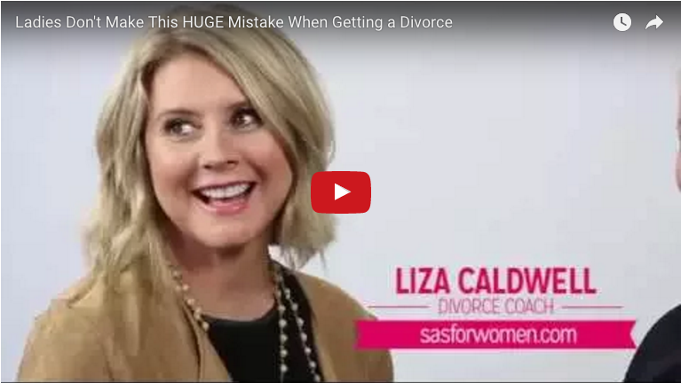 Liza Caldwell and Kimberly Mishkin discussing mistakes and divorce advice