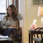 Sara Jessica Parker on Divorce on DBO sitting in a chair