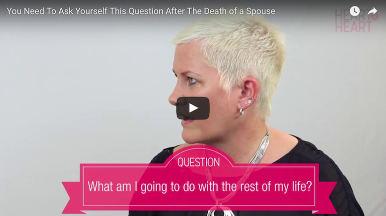 You NEED To Ask Yourself This Question After The Death of a Spouse