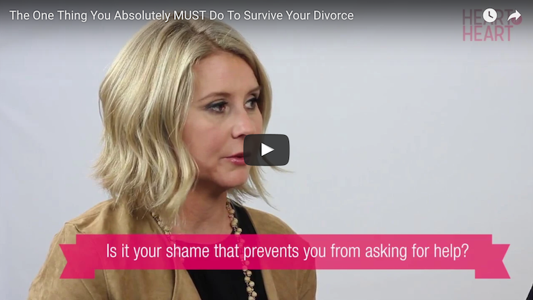 The One Thing You Absolutely MUST Do To Survive Your Divorce