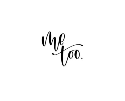 #Metoo in calligraphy