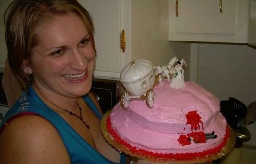 Woman celebrating after surviving a nasty divorce.
