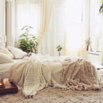 Luxe, messed up bed