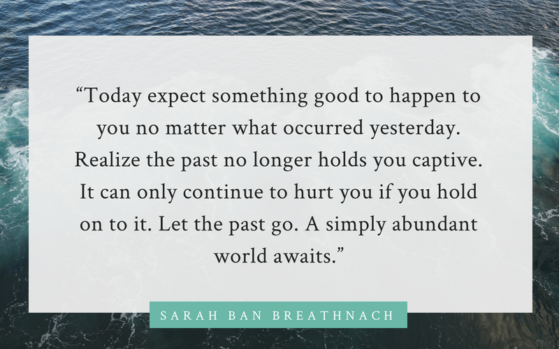 Sarah Ban Breathnach quote on divorce