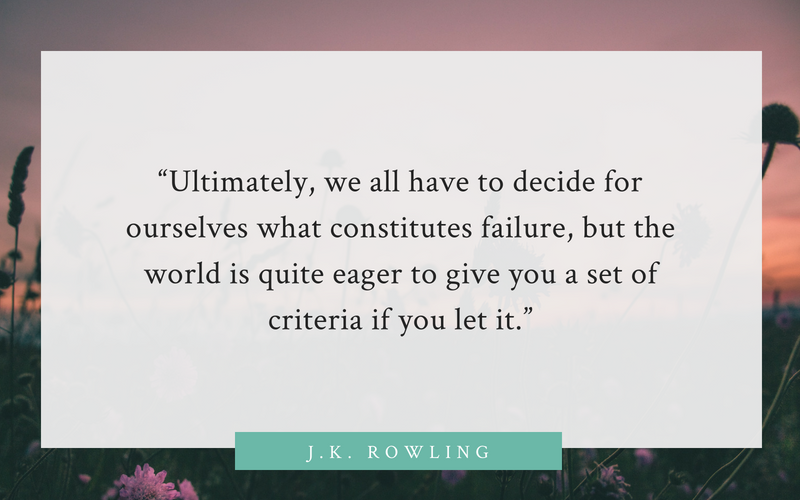 J.K. Rowling quote on divorce