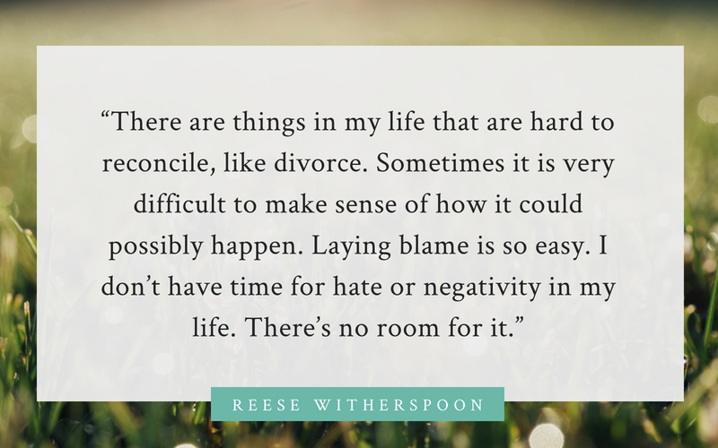 Reese Witherspoon divorce quote