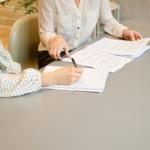 Financial consultation for a divorce